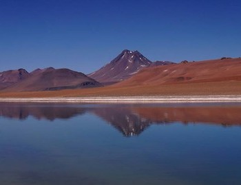 Atacama lake at 4800m.